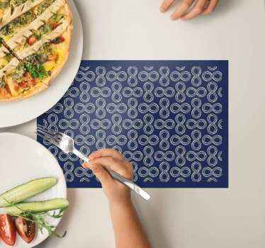 Get your amazing infinity symbol home vinyl placemats today! Sign up on our website and receive 10% off your first order!