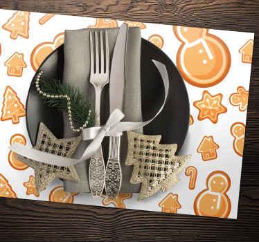 Schneemann donuts Tischset für Ihren Tisch. Leicht zu waschen und sehr langlebig. Bestellen Sie einfach über unsere Website und wir beginnen mit der produktion!