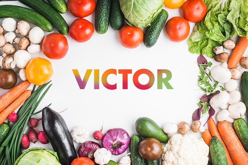 TenVinilo. Mantel individual con nombre surtido de frutas. Lleno de colores y vegetales es este mantel individual con nombre personalizado que crearán una mirada única en su cocina o comedor ¡Fácil de limpiar!