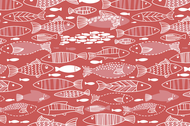 TenStickers. Many fish under sea fish vinyl placemats. As they say, there are plenty more fish in the sea. But those amazing fish vinyl placemats are the only ones! Buy them online now!
