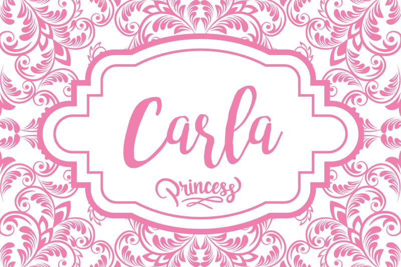 TenStickers. 可自定义的公主姓名乙烯基餐垫名称. 适合儿童的理想个性化名字表餐垫。它印有带有公主标签的粉红色装饰花朵设计。