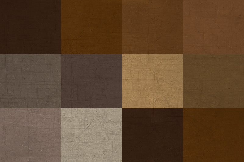 TenStickers. Brown squares pattern elegant vinyl placemats. Brown squared pattern place-mat design for home and restaurant use. The product is easy to maintain and of high quality material.