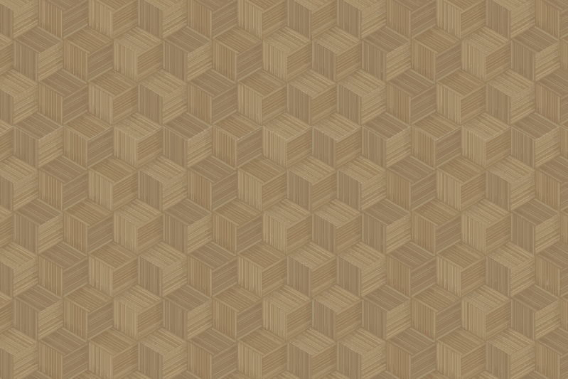 TenStickers. 竹芦苇纹理乙烯基餐垫. 用于家庭和餐厅餐桌空间装饰的竹制芦苇质餐垫。它易于维护和抗过敏。