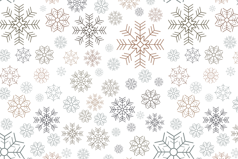 TenStickers. Snowflakes pattern Christmas vinyl placemats. Lovely decorative Snowflakes pattern Christmas place mats design. It is made from high quality material and easy to maintain.