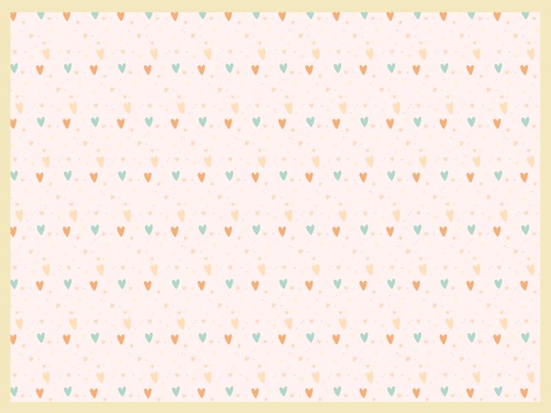 TenVinilo. Mantel individual corazones tonos pastel. ¡Déjate sumergir en un ambiente alegre y cálido gracias a este mantel individual original corazón tonos pastel! ¡Entrega a domicilio!