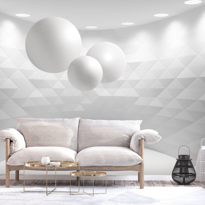 TenStickers. Abstract 3D Mural Wallpaper. Bring your home, office or store into the modern age with this amazing abstract 3D mural wallpaper. Worldwide delivery available!