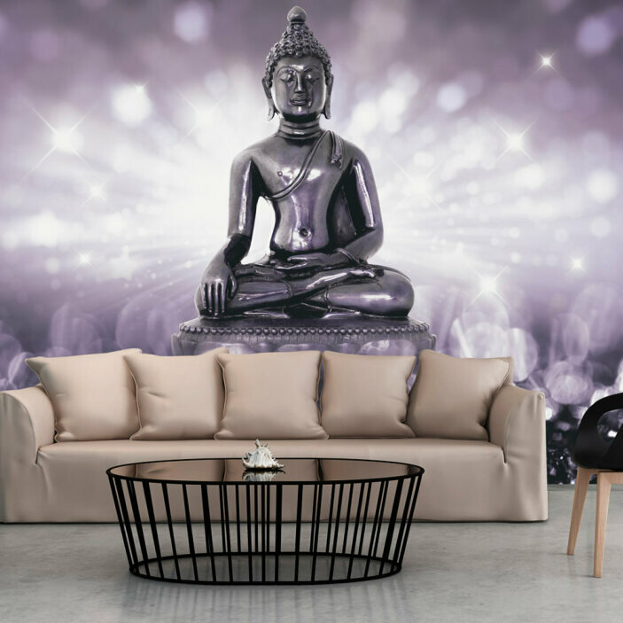 TenStickers. Buddha Statue Wall Mural. Let this amazing Buddha statue wall mural be your guide to finally finding inner peace. Order now for free worldwide delivery!