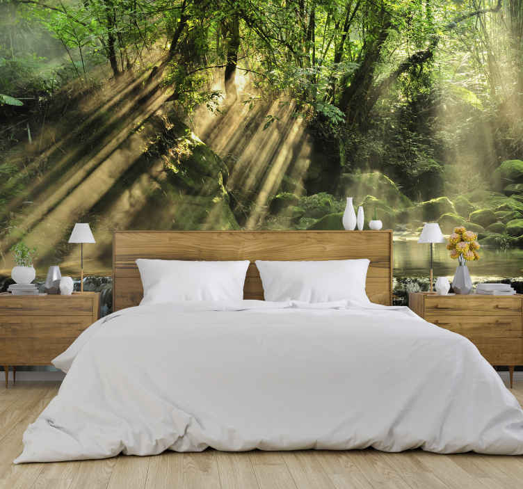 TenStickers. The secret forest tree wall mural. If you are after a forest wall mural that is both gorgeous looking and high quality then this is the one for you! Beautiful design!