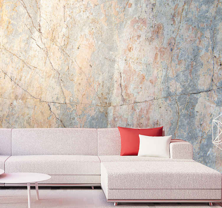 TenStickers. Original Blush Marble Wall Mural mural wallpaper. A fantastic collection of original blush marble wallpaper. Unique marble designs wall mural for your home. Do not miss them out!