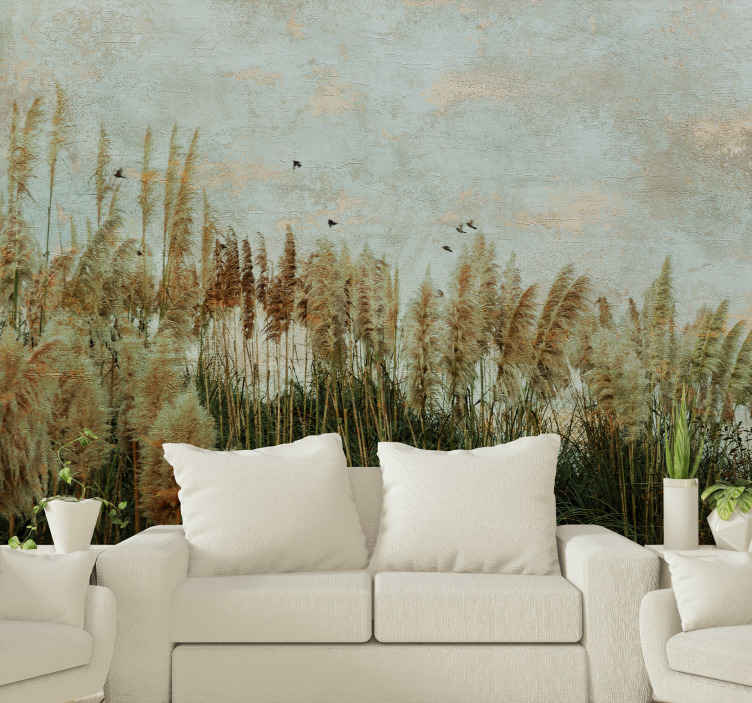 TenStickers. Toi Tois landscape wall mural. Scenery landscape wall mural of natural plant. It is original, made from high quality material and easy to apply. Available in different sizes.
