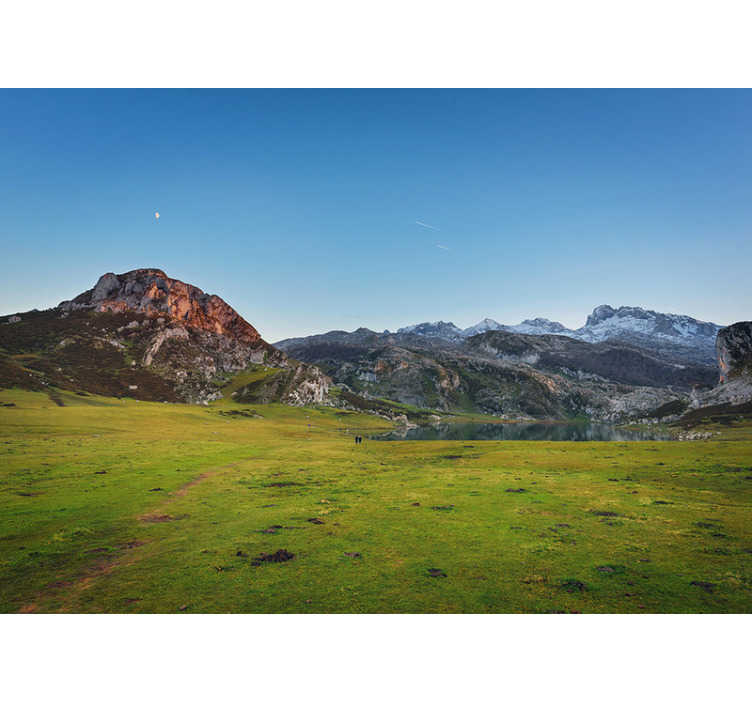 TenStickers. Picos of Europe landscape wall mural. Fantastic mountain photomural of Picos of Europa that you can buy on our website and take a piece of this wonderful northern mountain to your home.