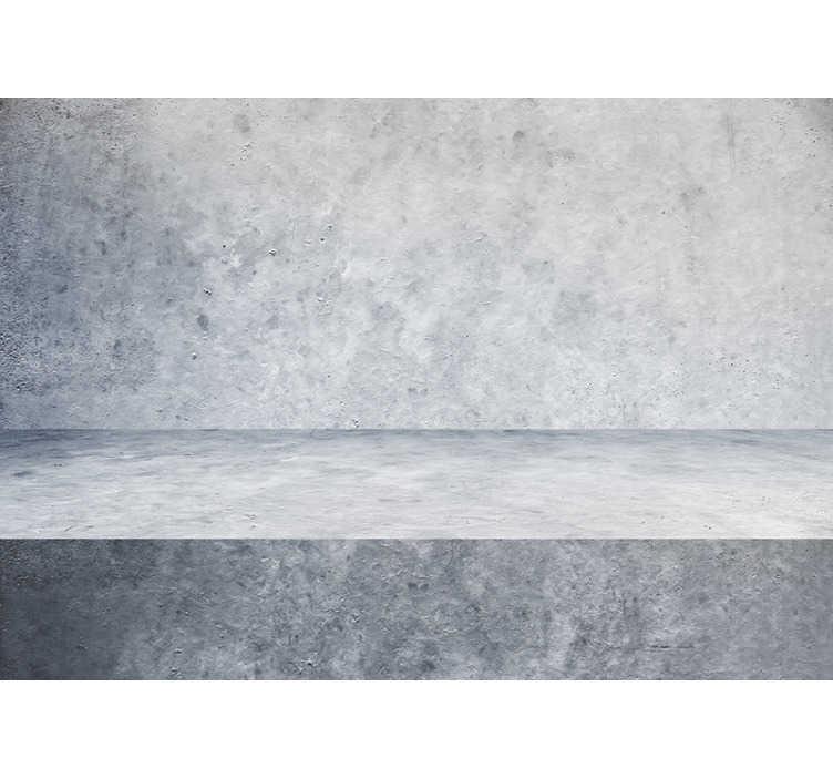TenStickers. Murale modello muro di cemento. Questo murale fotografico mostra una bellissima parete grigia in cemento. I grandi colori di questo prodotto saranno la decorazione perfetta per te!