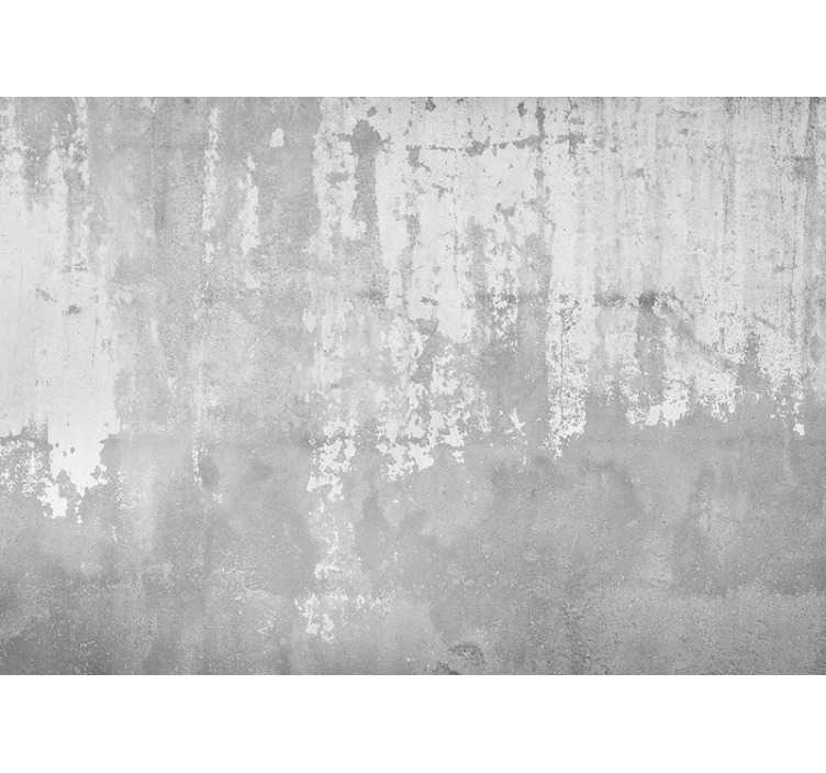 TenStickers. Rough concrete pattern wall mural. This photo mural shows really cool rough-looking concrete The bright grey color will be the perfect decoration for your home!