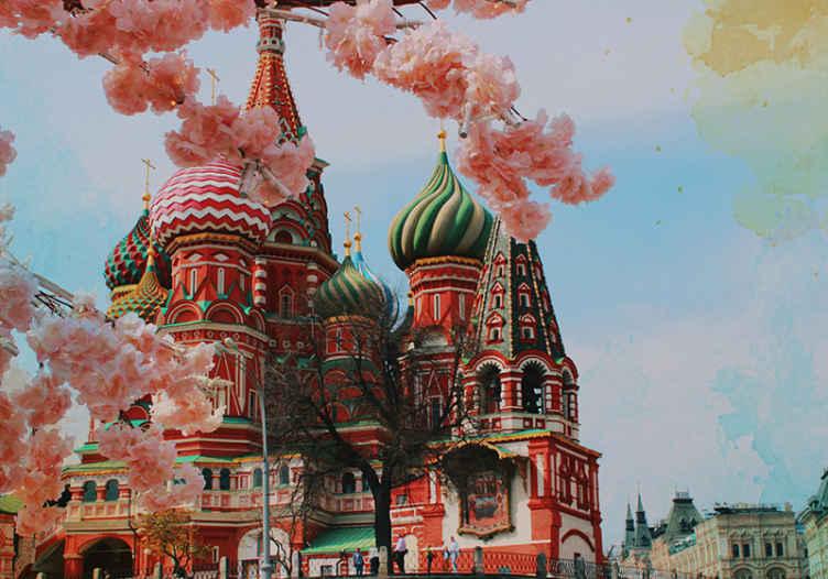 """""""Tenstickers"""". Kremliaus ir karuselės sienų tapetai. Paimkite savo rankas ant šio nuostabaus kremliaus ir karuselės sienų paveikslo, kad pridėtumėte savo namuose daugybę charakterio ir unikalumo. Nepraleisk!"""