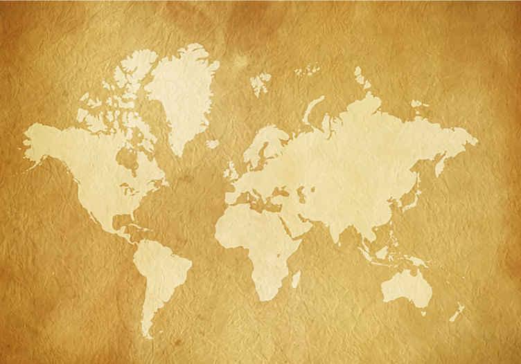 TENSTICKERS. 世界地図ヴィンテージ壁壁画. 世界地図の高品質の画像でこのヴィンテージの壁を見てください。あなたの寝室やリビングルームの装飾として最適です。無料配達!