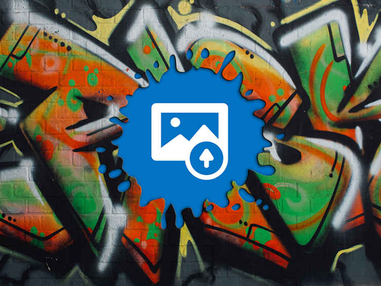 TenStickers. fashion graffiti background with photo  custom murals. Now lets combine your own desired image with this urban graffiti style wall mural. The design depicts a broken graffiti wall with view of it behind.