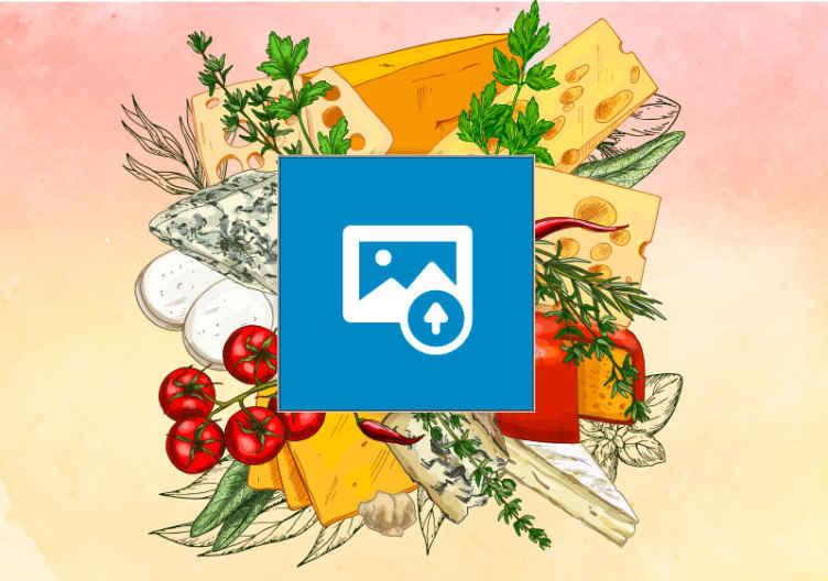 Tenstickers. Lidenskap for matlagingsramme med foto tilpassede veggmalerier. Realistisk mat kjøkken veggmaleri for kjøkken. Forskjønne et kjøkken eller spisestue med dette designet som illustrerer tilberedning av mat på et kjøkken.