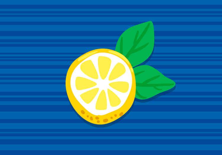 TenStickers. Ruční kreslení citronů nástěnné malby. Ruční nakreslení citronů kuchyňská fototapeta, která přinese transformující vzhled a přítomnost ve vašem kuchyňském nebo restauračním prostoru. Vyrobeno z kvalitního materiálu.