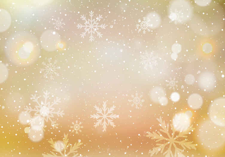 TenStickers. Tapisserie salon Flocons de neige or et blancs. Jetez un œil à cette murale de salon inspirée de l'hiver et du pays des merveilles! Il est dans une couleur pleine de flocon de neige en blanc!