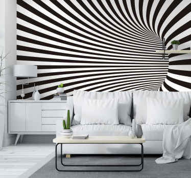 Transform your home into something truly cool and beautiful with this amazing 3D VFX tunnel mural wallpaper. Worldwide delivery!