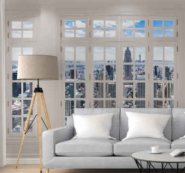 New York City Skyline Wall Mural