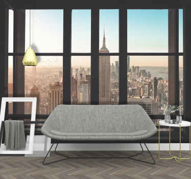 Wake up to a sunny morning in New York instead of the cloudy views over your city. This is the perfect New York wall mural if you love the big apple
