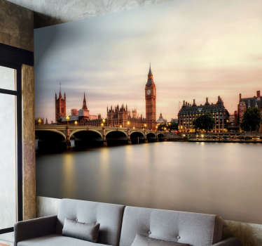 Westminster London Wall Mural