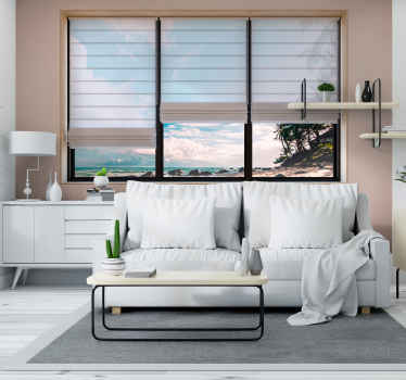 Turn your home into a gorgeous beach getaway with this amazing 3D beach wall mural. Free worldwide delivery available now!