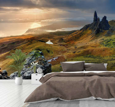 Isle of Skye nature landscape wall mural