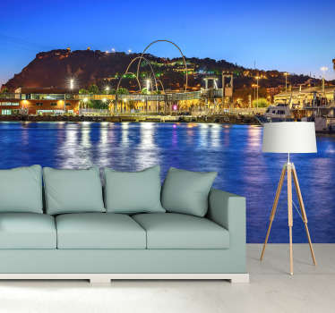 Fantastic photomural wall of Barcelona with which you can decorate your house with beautiful views of Barcelona. Enjoy now this magnificent design!
