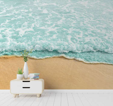 You are not living close to the beach but love the sea? This scenery wall mural is just what you need to decorate your walls!