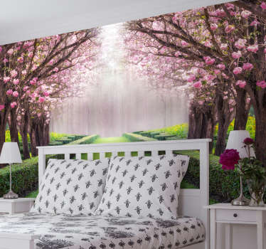 Get lost in your own secret garden, full of beautiful sights and fun. This tree wall mural is absolutely gorgeous, and we are sure you'll agree!