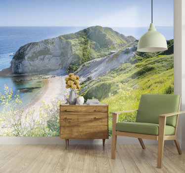 Order this scenery photo mural and enjoy those famous and spectacular cliffs in your bedroom or living room. Forget about boring and white walls.