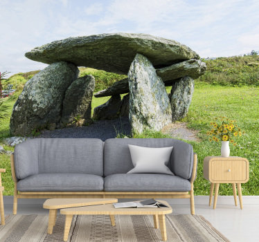 Order this nature wall mural with Altar Wedge Tomb! This high quality image will be perfect for your living room or bedroom!