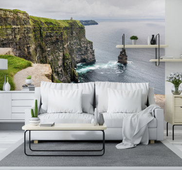 With this beautiful photo wall mural you get the opportunity to enjoy this rocky area and the beautiful water surface that will calm your mind & body!