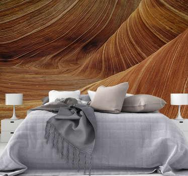 Laat je verdwalen in de landschappen van de grote woestijnen die de muren van je huis versieren met dit prachtige fotobehang in de woestijn.