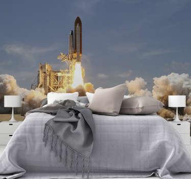 Ons raketbehang is gemaakt van hoogwaardige materialen, is zeer bestendig en duurzaam, wat de toepassing enorm vergemakkelijkt.