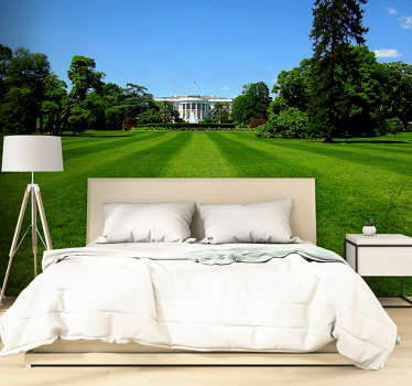 Feel like you are visiting White House with this large wall mural made of a high quality image. Fall in love with matte finishing!