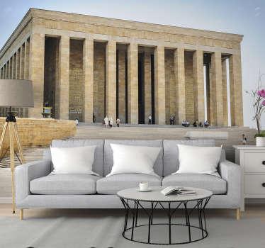 Atatürk'ün türbesi görüntüsü ile bu şaşırtıcı sanat duvar duvarını sipariş edin. Yüksek kaliteli görüntü ve mat kaplama, odalarınızın çarpıcı görünmesini sağlayacaktır!