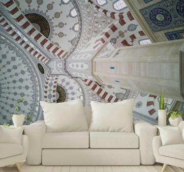 Bu, türk kültürünün güzel dekorasyonunu görebileceğiniz güzel bir türk binası fotoğraf duvar kağıdı.