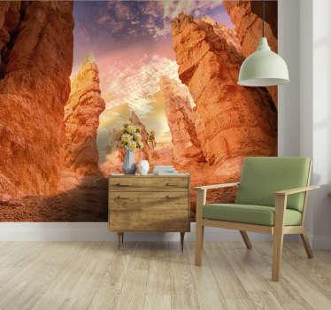 Admire o mundo todos os dias ao ver seu novo fotomural de paisagens que apresenta a beleza do Rose Canyon. Entrega grátis!