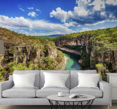 Compre agora este mural de parede de paisagens das Furnas e coloque-o na sua sala de estar! Vários tamanhos disponíveis.