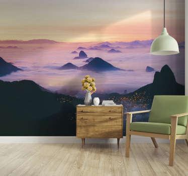 Apaixone-se por este elegante fotomural de parede de paisagens e aprecie a beleza do mundo em sua sala ou quarto.