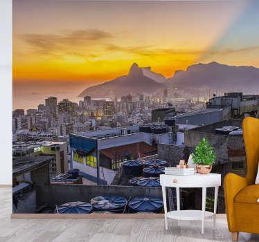 Aproveite a sensação de caminhar por São Paulo com este mural de parede decorativo de de cidades. Produto de alta qualidade e entrega gratuita!
