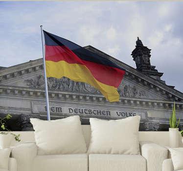 Lieben Sie Berlin und Deutschland? Perfekt! Diese Landschaftstapete wird in Ihrem Wohnzimmer mit all Ihren anderen Dekorationen großartig aussehen.