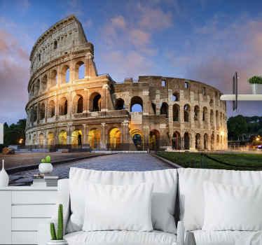 Een mooie en unieke Rome gigantische bouwconstructie fotobehang om u ruimte te versieren. Het product is gemaakt van hoge kwaliteit en gemakkelijk aan te brengen.