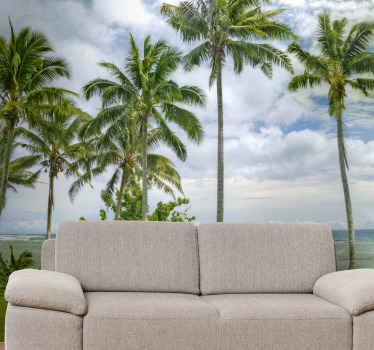 Verlaat uw woonkamer in de warmte van dit geweldige natuur strand fotobehang ontwerp van semoa sea beach. Gemaakt van hoogwaardig materiaal.