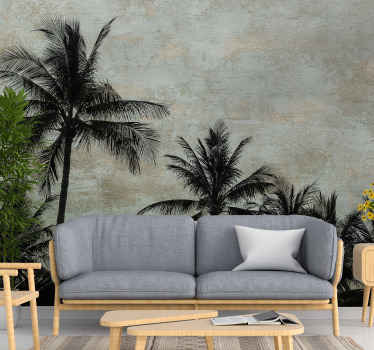 Decorative country theme wall mural design of a plant typical to Aloha location. Easy to apply and of high quality material.