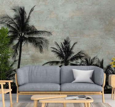 διακοσμητική τοιχογραφία τοίχου με θέμα το σχεδιασμό ενός φυτού τυπικού για την τοποθεσία aloha. εύκολο στην εφαρμογή και υψηλής ποιότητας υλικό.