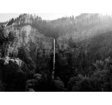 装饰风景景观墙摩特诺玛瀑布的壁画设计。由优质材料制成,易于应用。